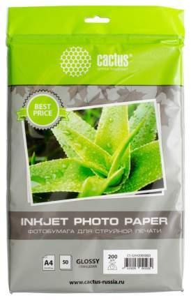 Фотобумага для принтера A4 Cactus EveryDay CS-GA420050ED Белый