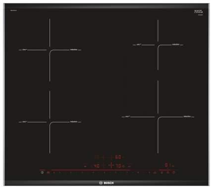 Встраиваемая варочная панель индукционная Bosch PIE675DC1E Black