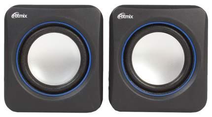 Колонки компьютерные Ritmix SP-2010 Black-Blue