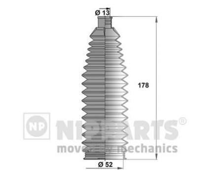 Пыльник рулевой тяги Nipparts J2842027