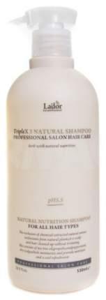 Шампунь La'dor Triplex Natural Shampoo 530 мл