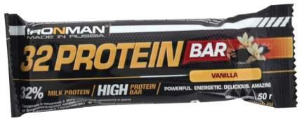 Протеиновый батончик Ironman TRI Protein Bar 50 г ваниль, темная глазурь