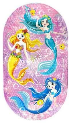 Коврик для ванны Valiant Kids Collection Морские феи Противоскользящий, 69 см х 39 см