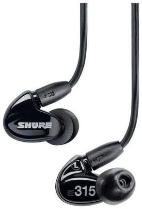 Наушники Shure SE 315 Black