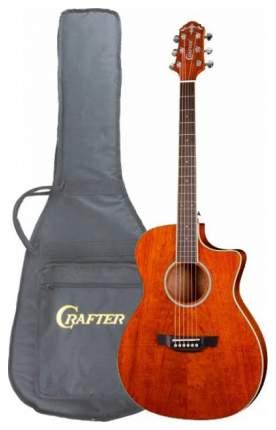 Электроакустическая гитара шестиструнная CRAFTER FC-550EQ AM  Чехол