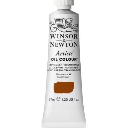 Масляная краска Winsor&Newton Artists прозрачный коричневый 37 мл