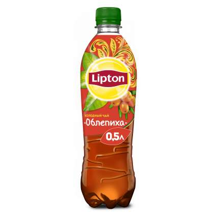 Холодный чай Lipton облепиха по-русски 0.5 л