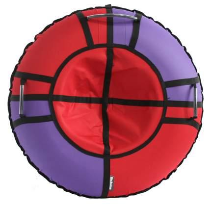 Тюбинг Hubster Хайп красный-фиолетовый 110 см