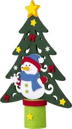 Новогоднее украшение Феникс-Презент Елка со Снеговиком