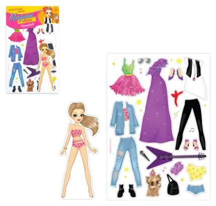 Магнитная игра Одень куклу: супер-звезда Happy Valley