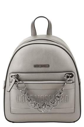 Рюкзак женский Love Moschino JC4233PP08KE0906 серебристый