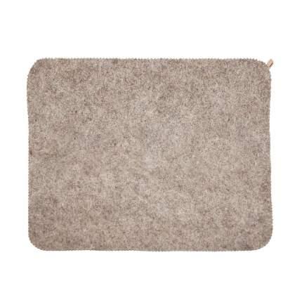 Войлочный коврик для бани (эконом серый) Rusher кв001