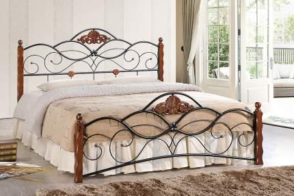 Кровать полутораспальная TetChair Canzona 120х200 см, красный/черный