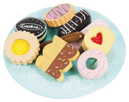 Игрушечная еда Le Toy Van Тарелка с пирожными