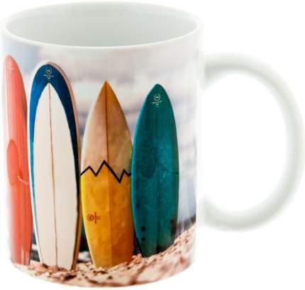 Керамическая кружка 3Dollara Доски для серфинга у моря. MUG0121