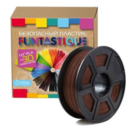 Пластик для 3D-принтера Funtastique PLA-1KG-BN PLA Brown