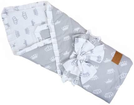 Одеяло на выписку AmaroBaby HAPPY (Серый)