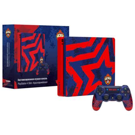 Игровая приставка Sony PlayStation 4 Rainbo 1TB ЦСКА. Красноармейская (CUH-2208В)