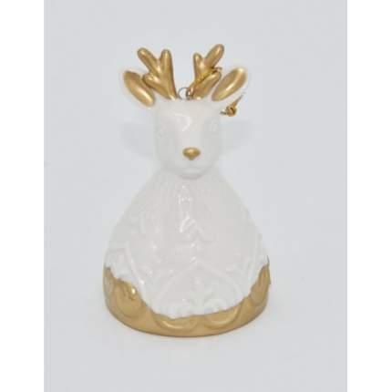 Елочная игрушка Феникс Present олень, 10х5,4х5,4 см