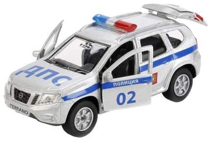 Машина инерционная Технопарк Nissan Terrano полиция 12 см SB-17-47-NT(P)-WB