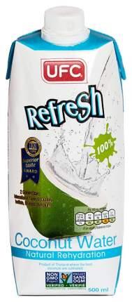 Кокосовая вода 100% Refresh без сахара 500 мл