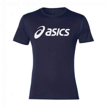 Футболка Asics Silver Top SS, blue, S INT