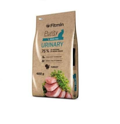 Сухой корм для кошек Fitmin Purity Urinary, профилактика МКБ, беззерновой, 0,4кг
