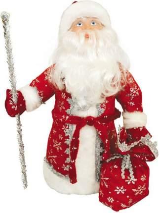 """Декоративная кукла """"Дед Мороз под елку"""", 40 см, красный"""