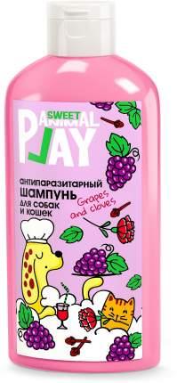 Шампунь для кошек и собак Animal Play SWEET Виноград и Гвоздика, антипаразитарный, 300 мл
