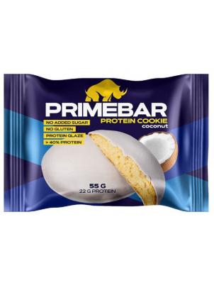 Prime Kraft Протеиновое печенье Primebar, кокос в протеиновой глазури 55 г