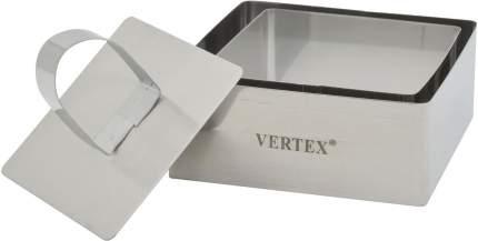 Набор форм для выпечки и выкладки с крышкой-прессом квадратные Vertex TDKVS-1781