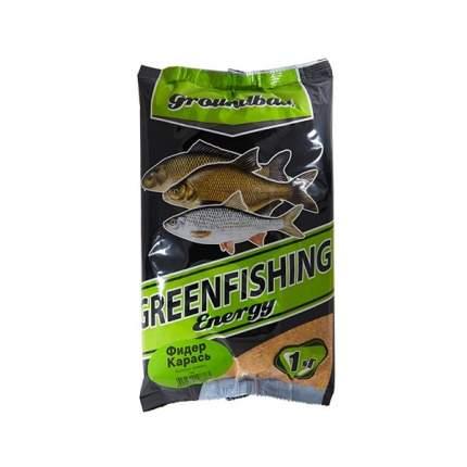 Прикормка Gf Energy Фидер для ловли карася, 1 кг, сладкий