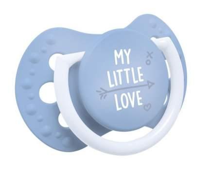 Пустышка динамическая Lovi My Little Love 22.847 силикон, 0-2 мес., 2 шт., для мальчика