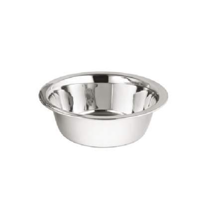 Миска для собак Ankur, одинарная, металлическая, 450 мл