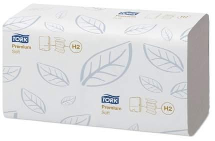 Полотенца Tork Premium сложение Interfold мягкие 110 листов 21*34 см 2 слоя белые