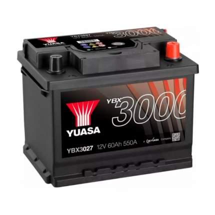 Аккумуляторная Батарея Smf[12v 60ah 550a B13] YUASA