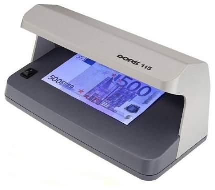 Детектор банкнот Dors 115 Серый (SYS-033271)
