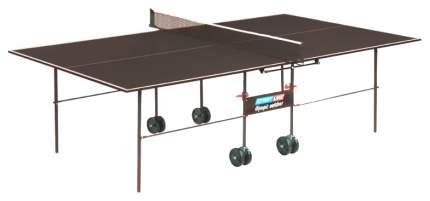 Теннисный стол Start Line Olympic Outdoor коричневый, с сеткой