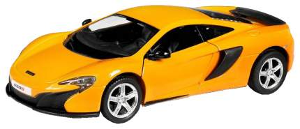 Машина металлическая RMZ City 1:32 McLaren 650S, инерционная желтый 554992-YL
