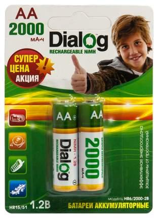 Аккумулятор Dialog HR6/2000-2B