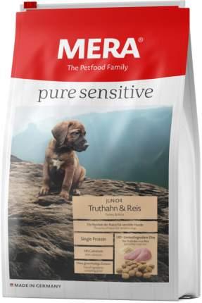 Сухой корм для щенков MERA Pure Sensitive Junior Truthahn&Reis, индейка и рис, 1кг