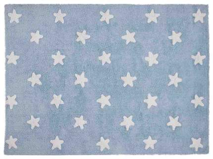 Ковер Lorena Canals Звезды Stars голубой с белым 120*160