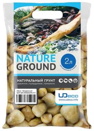 Грунт для аквариума UDeco Stream Yellow 30-50 мм 2 л