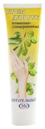 Крем для рук IRIS Оливково-глицериновый питательный 100 мл