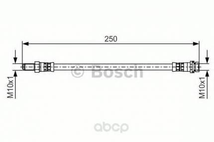 Тормозной шланг Bosch 1987481489