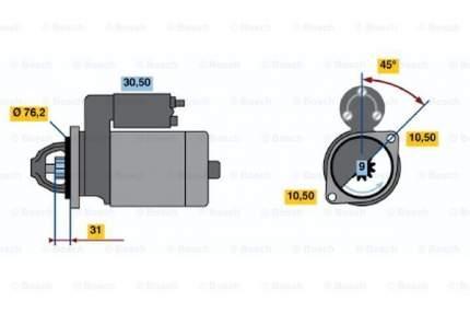 Стартер Bosch 0 001 107 024