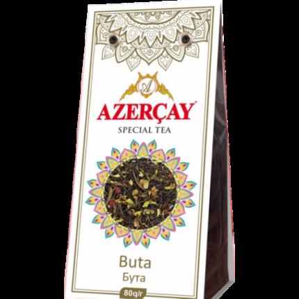 Чай черный Азерчай бута листовой 80 г
