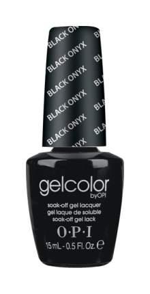 Лак для ногтей OPI Gelcolor Black Onyx 15 мл