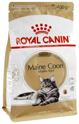 Сухой корм для кошек ROYAL CANIN Maine Coon Adult, мейн-кун, домашняя птица, 0,4кг