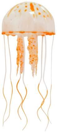 Декорация для аквариума JELLY FISH Медузы с неоновым эффектом D=7,5 cм оранжевые
